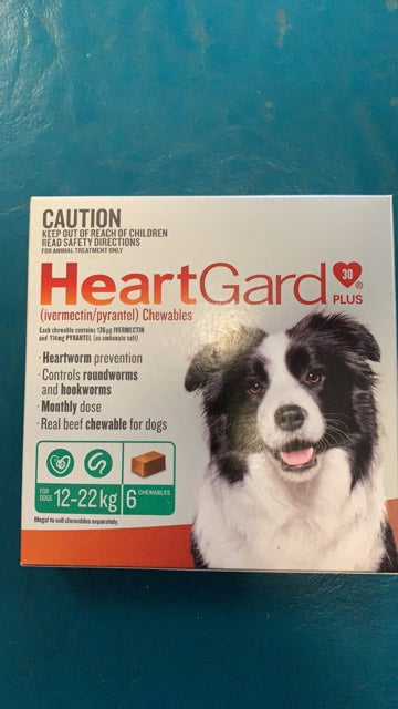 Heartgard Medium Dogs