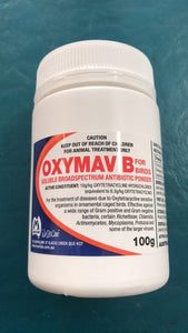 Oxymav B Bird Antibiotic 100g