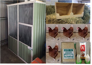 Chook Pen Pack Standard