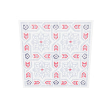 Load 3D model into Gallery viewer, Islamic Pattern Decor | Grey-Red | Arabesque Islamic Canvas