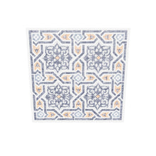 Load 3D model into Gallery viewer, Islamic Pattern Decor | Orange-Black | Arabesque Islamic Canvas