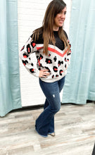 Load image into Gallery viewer, Leopard Print Soft Knit Sweater