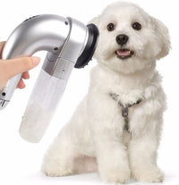 Portable Dog / Cat Grooming Vacuum Pet Hair Remover Tool-Dog Accessories-ShopDailyMix