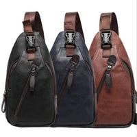 Thinkpac Leather Chest Bag