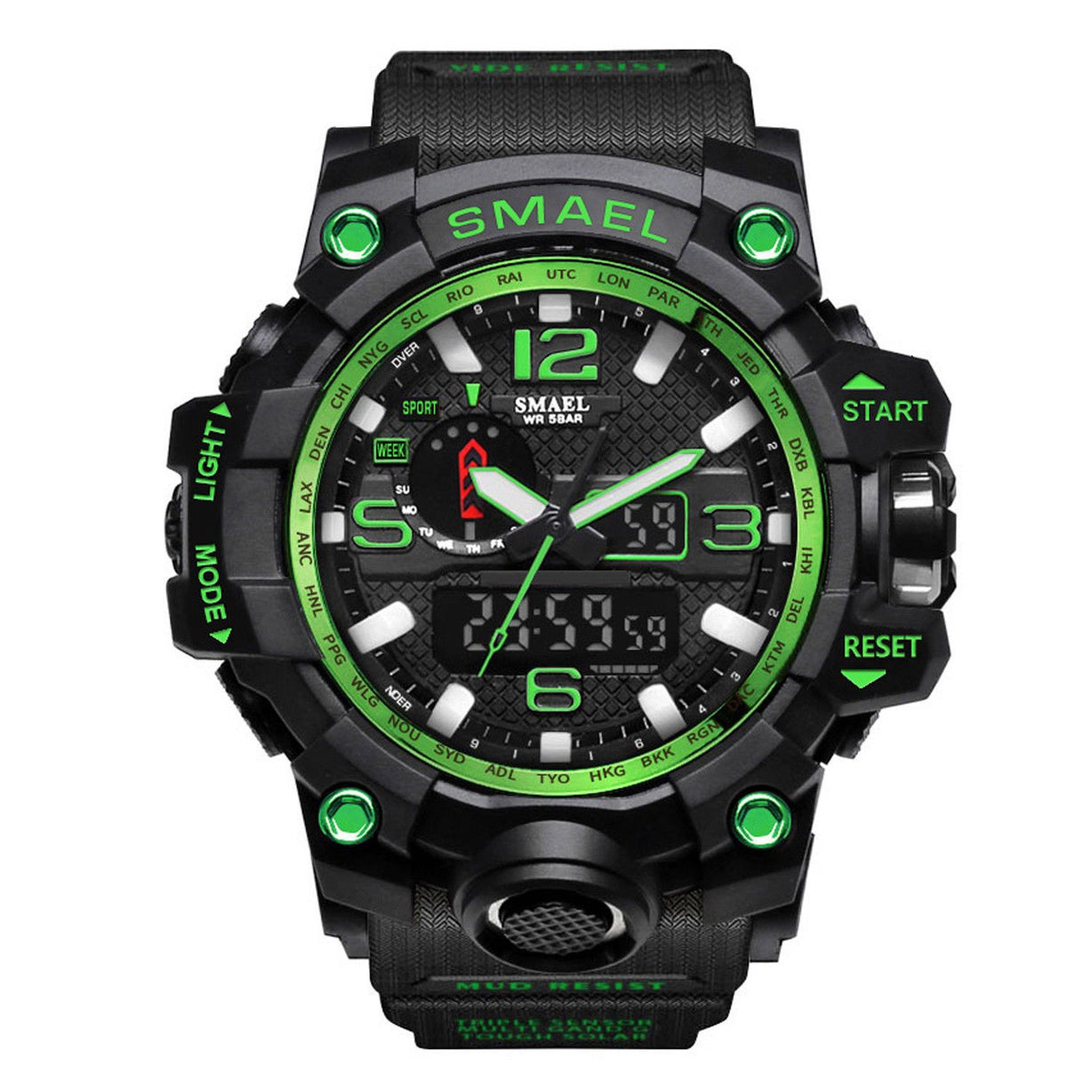 SMX Patriot Model Military Quartz Sports Watch