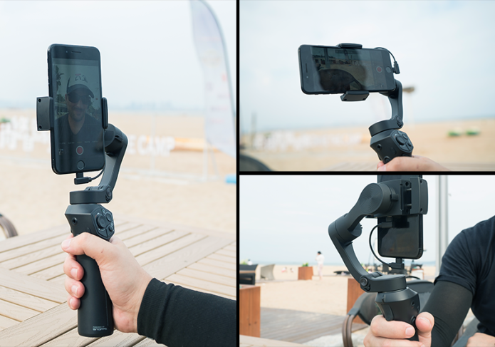 The Best Smartphone Gimbal -Super portable, wireless charging, 310g payload, mic jack, one-key switch, zoom and focus control-ShopDailyMix