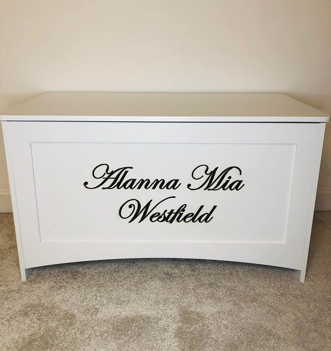 Personalised Toy Chest by Babbabox co - Babba box
