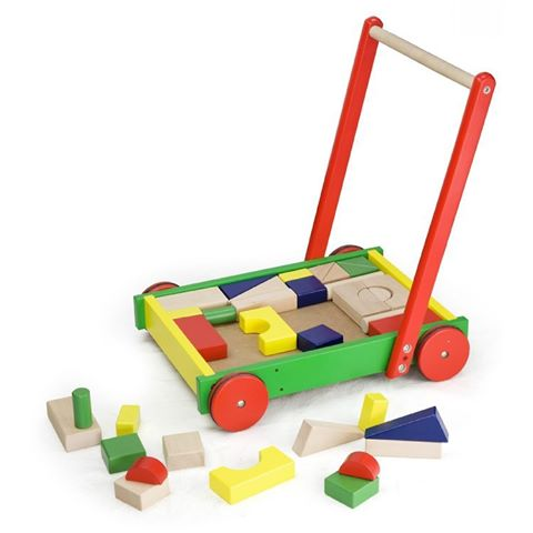 Walker with Building Blocks - Babba box
