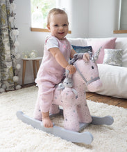Load image into Gallery viewer, Personalised Celeste & Fae Rocking Unicorn - Babba box