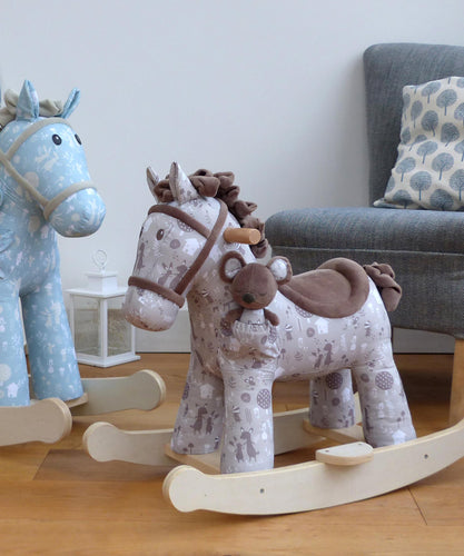Personalised Biscuit & Skip Rocking Horse - Babba box