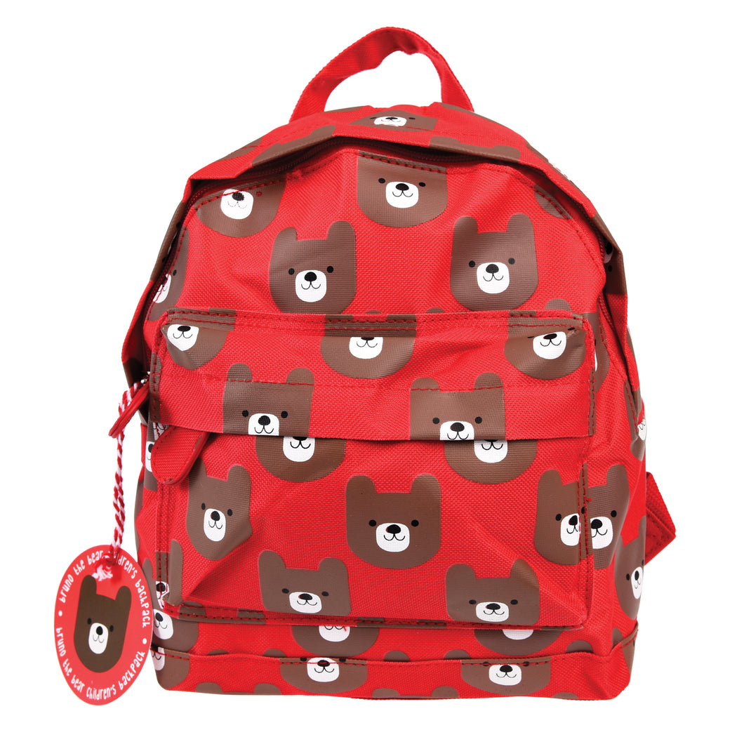 Bruno The Bear Mini Backpack - Babba box