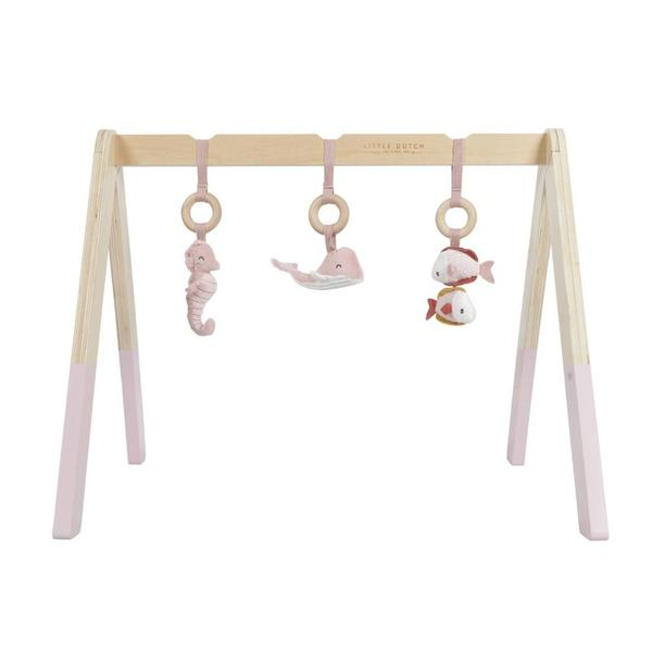 Little Dutch Play Gyms Pink- Personalised by Babbabox - Babba box