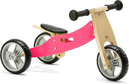 Personalised Two in One Trike by Babbabox - Pink - Babba box