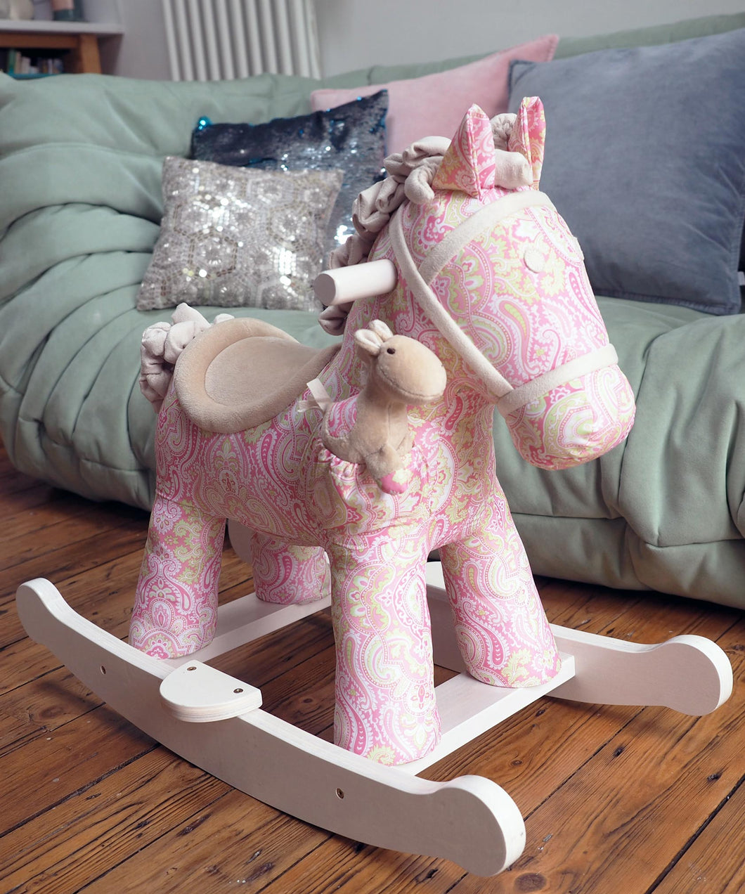 Personalised Pixie & Fluff Rocking Horse - Babba box