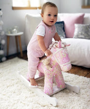 Load image into Gallery viewer, Personalised Pixie & Fluff Rocking Horse - Babba box