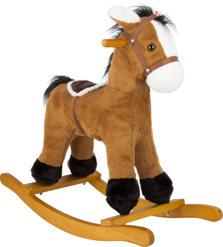 Rocking Horse With Saddle - Babba box