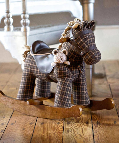 Personalised Rufus & Ted Rocking Horse - Babba box