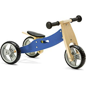 Personalised Two in One Trike by Babbabox - Blue - Babba box