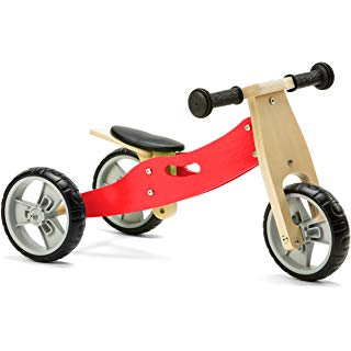 Personalised Two in One Trike by Babbabox - Red - Babba box