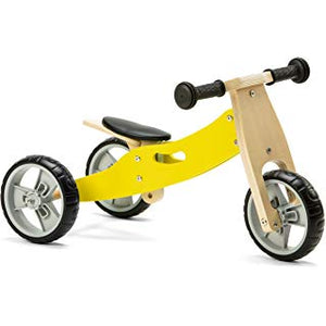 Personalised Two in One Trike by Babbabox - Yellow - Babba box