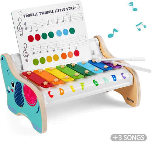 Personalised Wooden Xylophone - Babba box