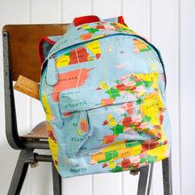 Load image into Gallery viewer, World Map Mini Backpacks - Babba box