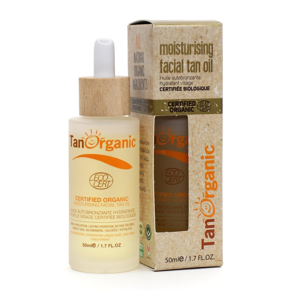 Moisturising Facial Tan Oil - 50ml - [TanOrganic]