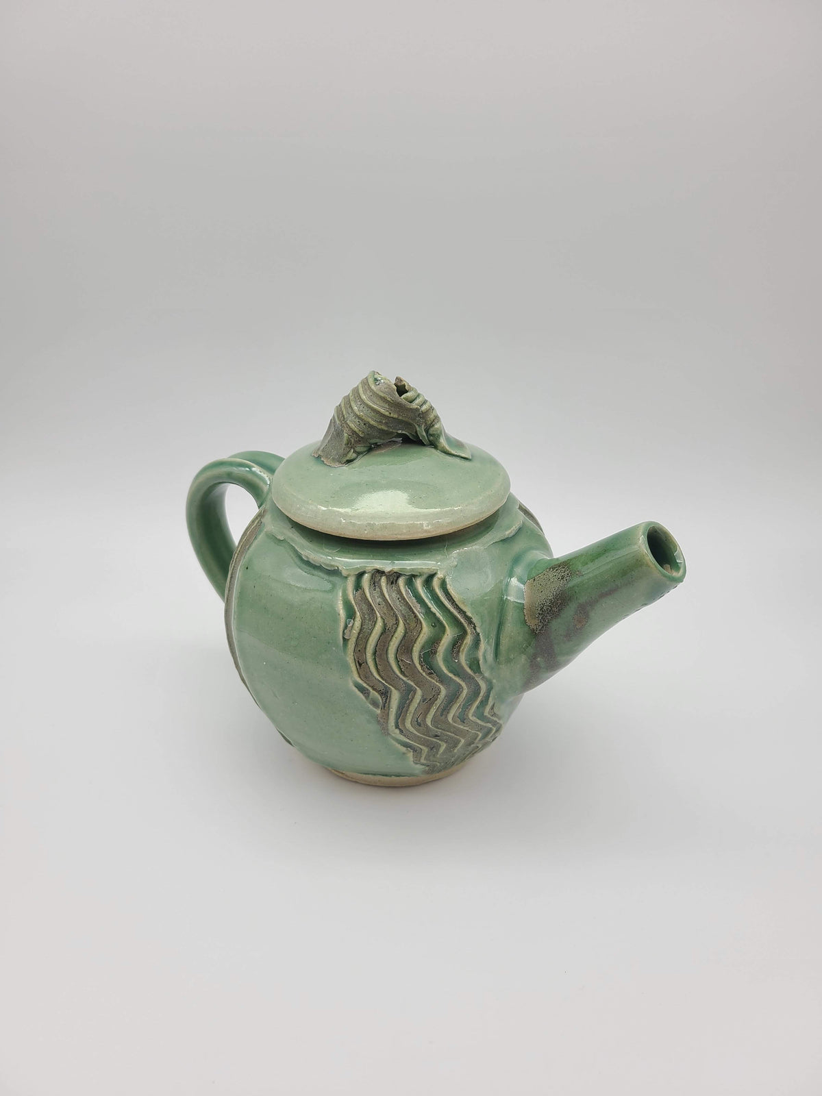 Teapot- Reflection and Ripples