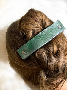 Leather Impressions: In Search of My Perfect Hair Barrette