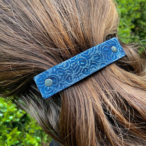 Tooled & Textured Barrettes