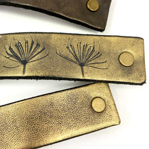 Gold Barrettes