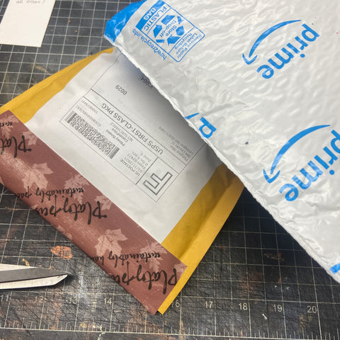 recycled amazon mailers