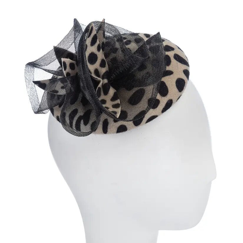 Anaya | Leopard Print Pillbox Hat