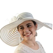 Load image into Gallery viewer, Dahlia | Large Sheer Floppy Sun Hat
