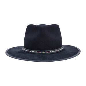 Mitchum | Wool Felt and Suede Fedora Hat