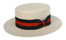 Load image into Gallery viewer, Nicholas | Classic Straw Boater Hat