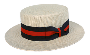 Nicholas | Classic Straw Boater Hat