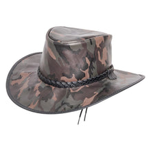 Load image into Gallery viewer, Striker | Crushable Leather Hat