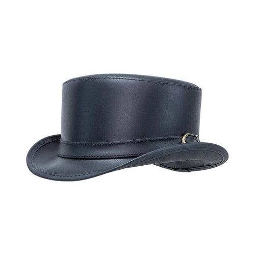 Crowley | Leather Top Hat