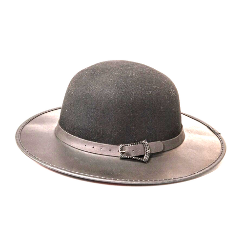 Sydney | Bowler Leather Hat