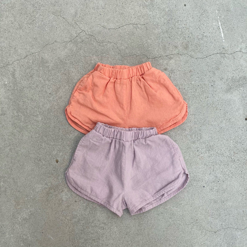 Kid's Unisex Summer Shorties - Lilac