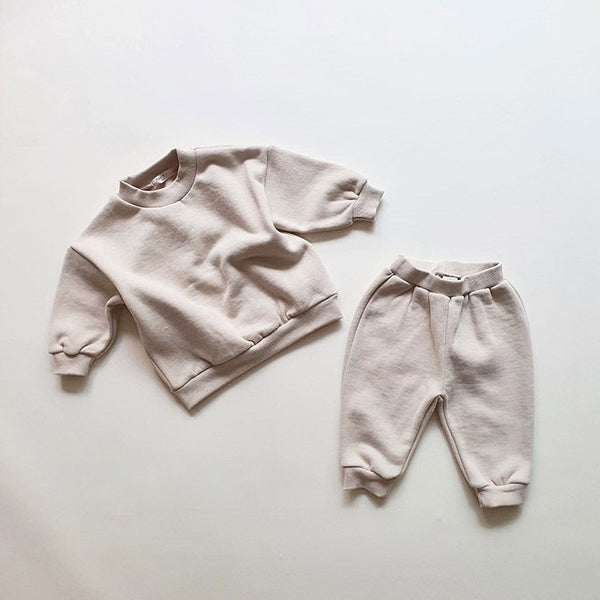 My Cozy Sweat Set - Beige