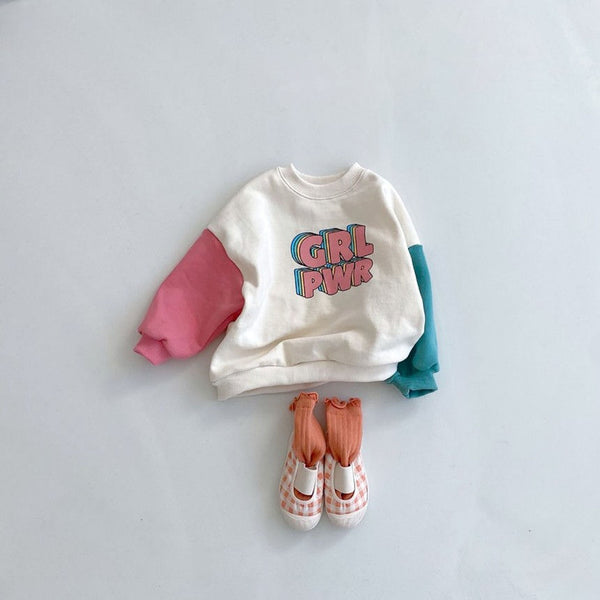 Grl Power Oversized Sweatshirt