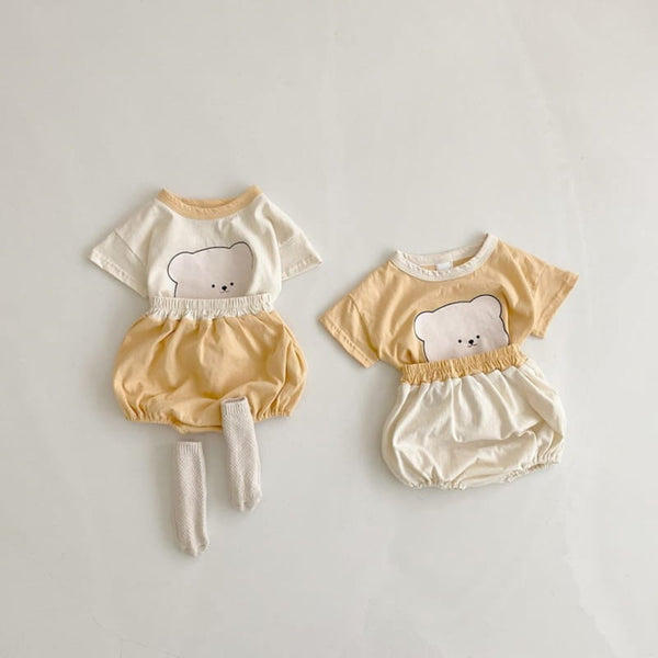 Baby Bear Bloomers Set - 2 Colors