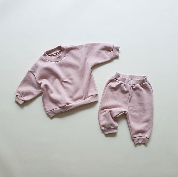 My Cozy Sweat Set - Dusty Pink