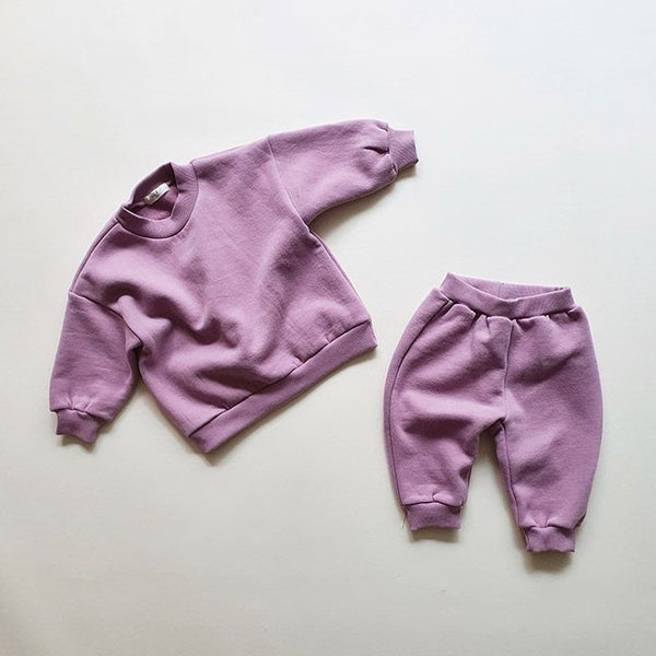 My Cozy Sweat Set - Orchid