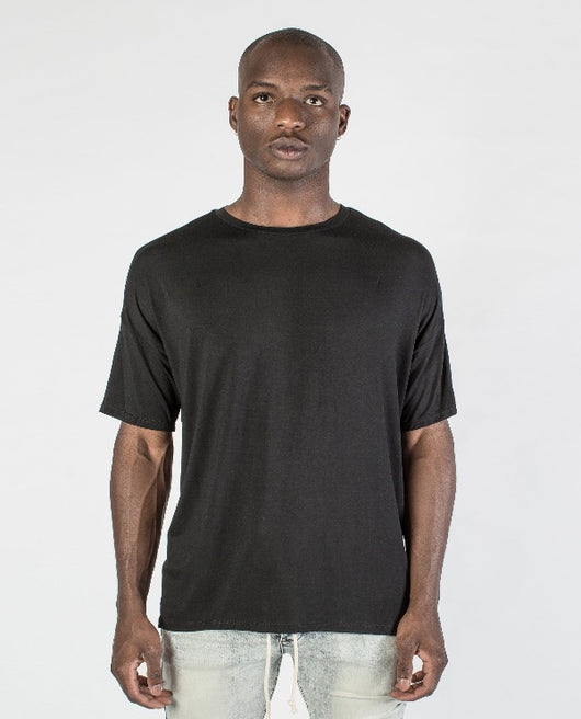 Kollar Essential Concave Tee - Black - Rare Boutique LLC