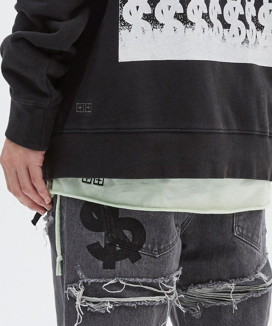 Ksubi Hi Flyer Hoodie Tru Black - Rare Boutique LLC