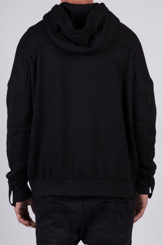 Kollar The Strap Zip Hoodie / Black - Rare Boutique LLC