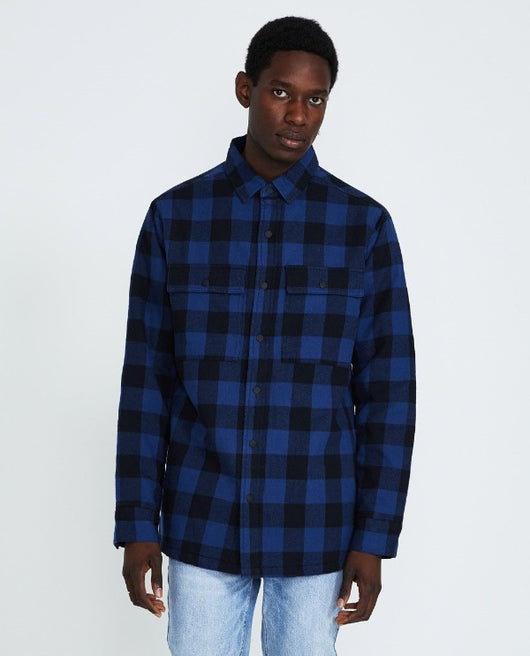 Ksubi Dub LS Shirt - Black/Blue - Rare Boutique LLC
